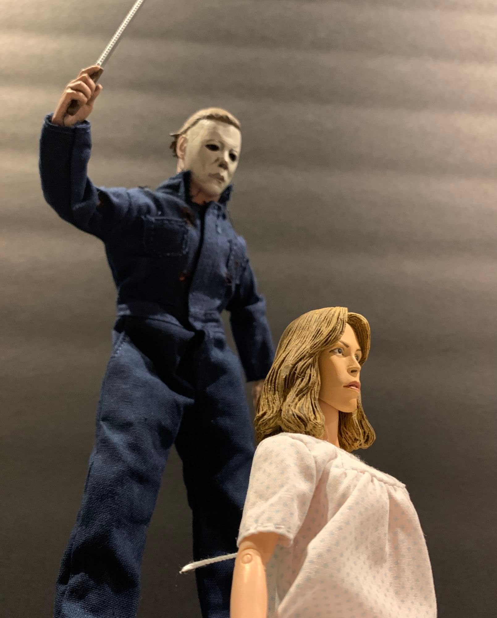Let's Take A Look At NECA's New Halloween 2 Loomis/Laurie Two Pack