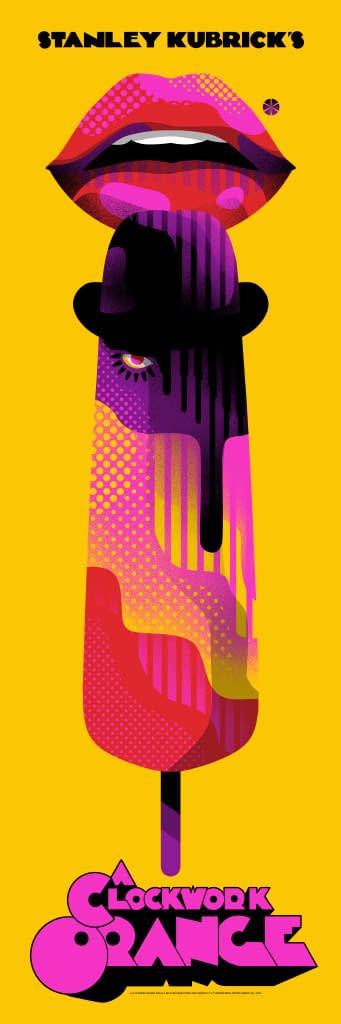 More Mondo Kubrick Goodness: 2001 & A Clockwork Orange Posters