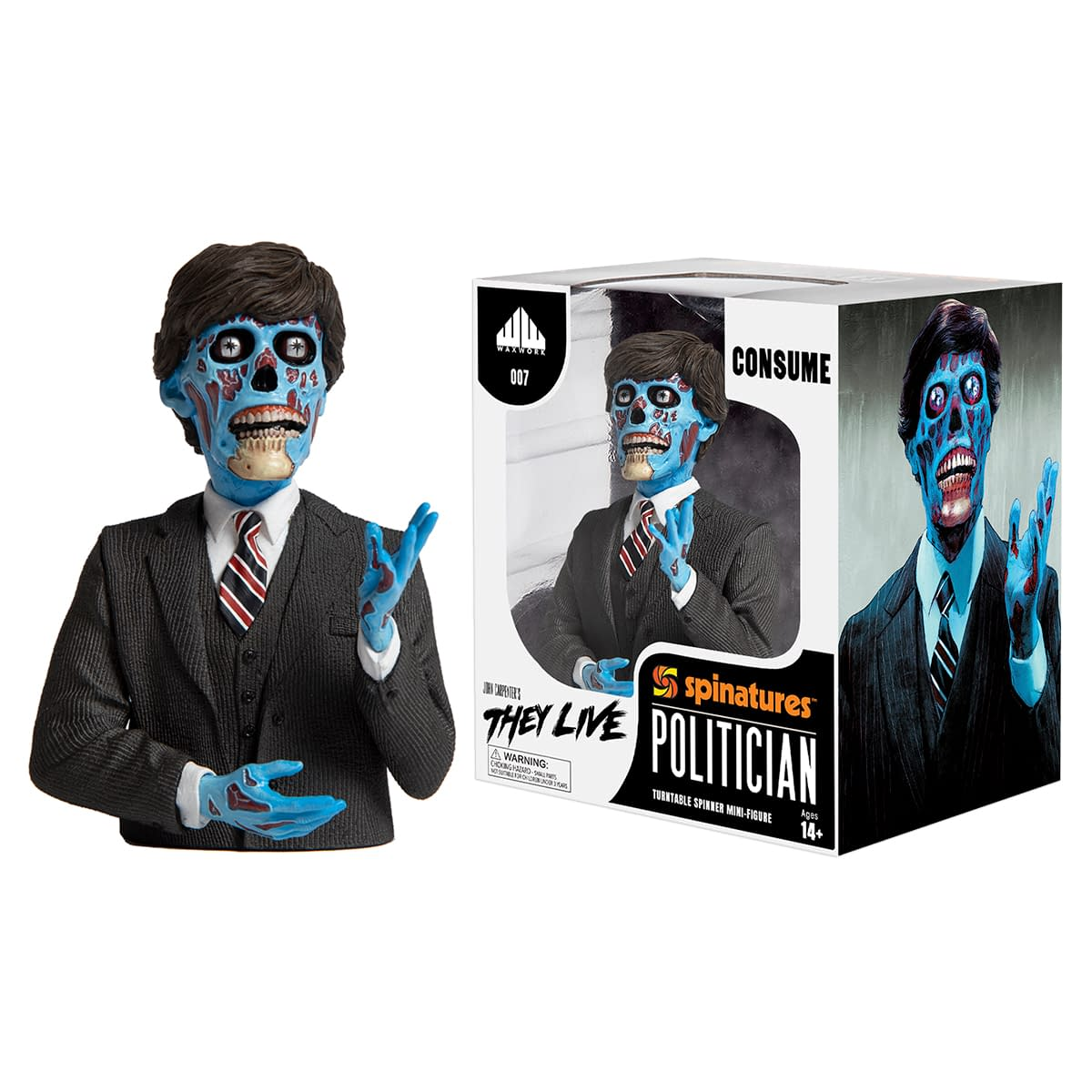 They Live Spinatures Figure Up For Order Now At Waxwork Records
