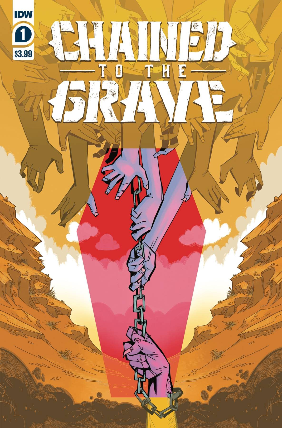 CHAINED TO THE GRAVE #1 (OF 5) CVR A SHERRON (RES)