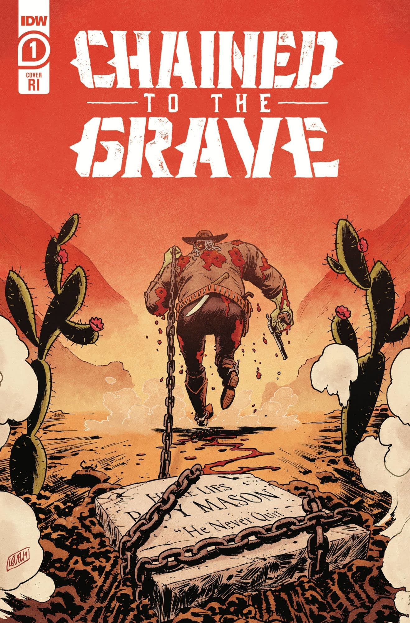 CHAINED TO THE GRAVE #1 (OF 5) 10 COPY INCV BRIAN LEVEL (NET