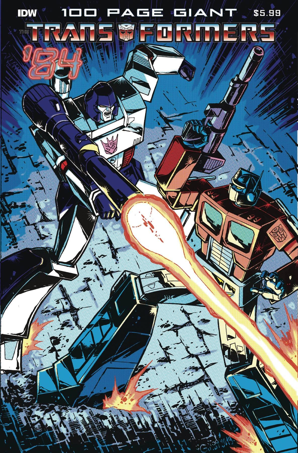 TRANSFORMERS 84 LEGENDS & RUMORS 100-PAGE GIANT (RES)