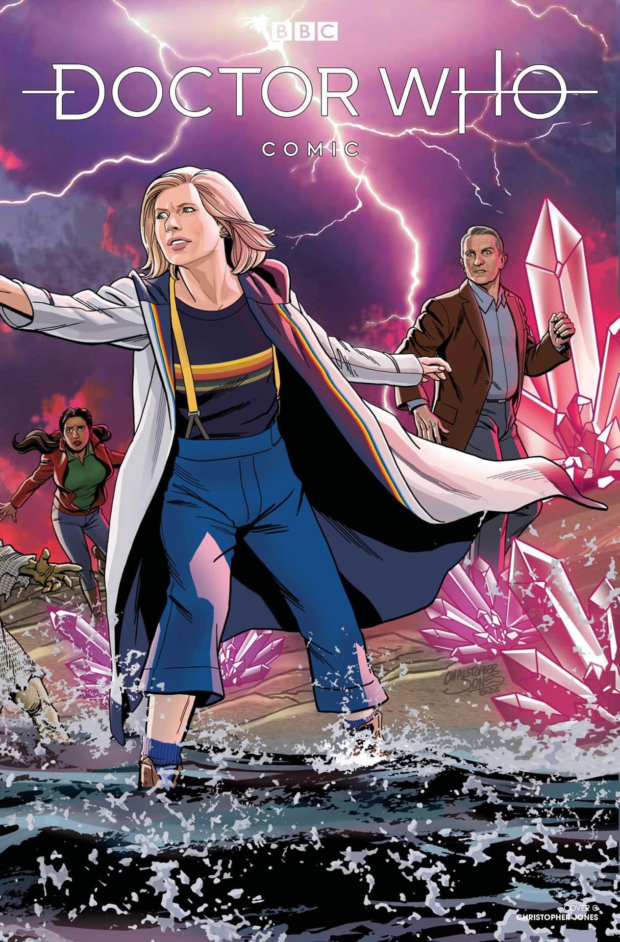 DOCTOR WHO COMICS #4 CVR C JONES