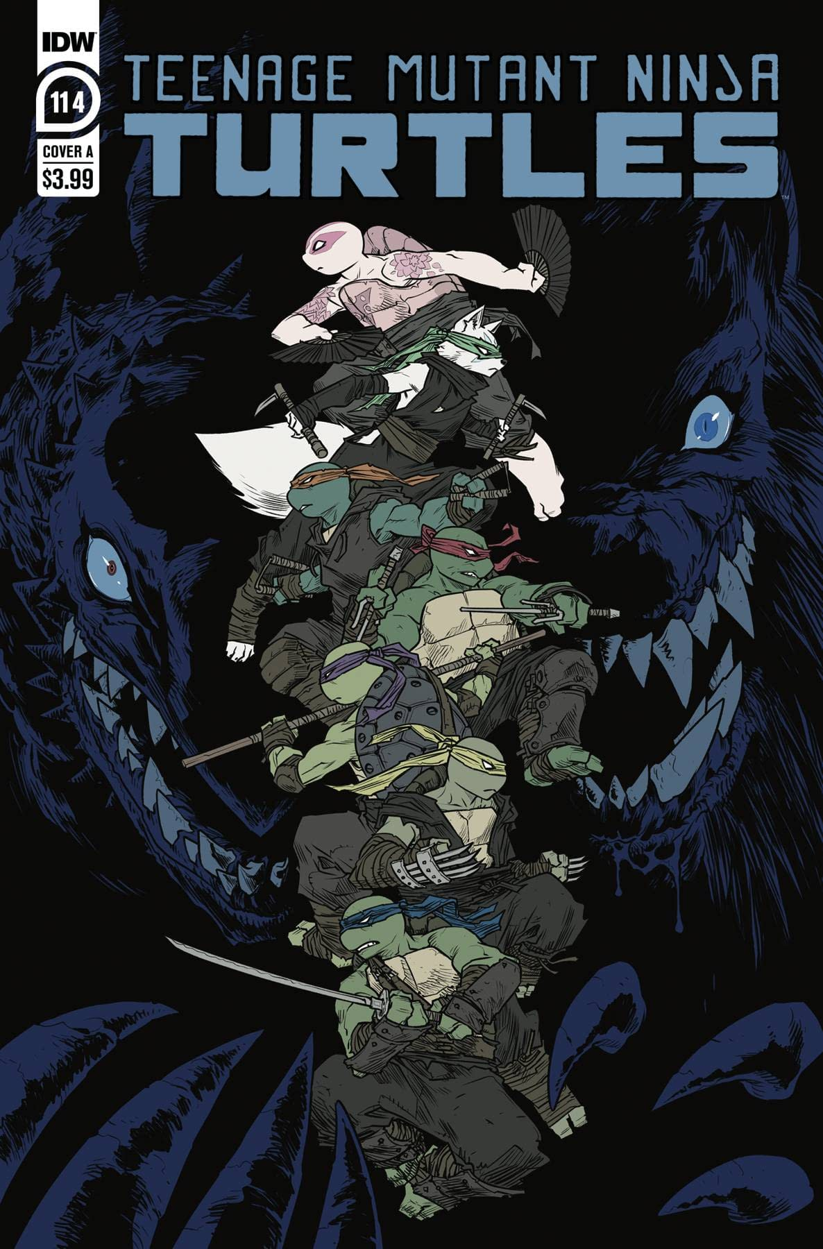 IDW TMNT ONGOING #114 CVR A SOPHIE CAMPBELL