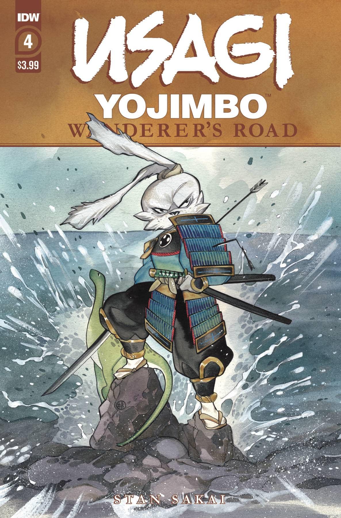 USAGI YOJIMBO WANDERERS ROAD #4 (OF 6) PEACH MOMOKO CVR