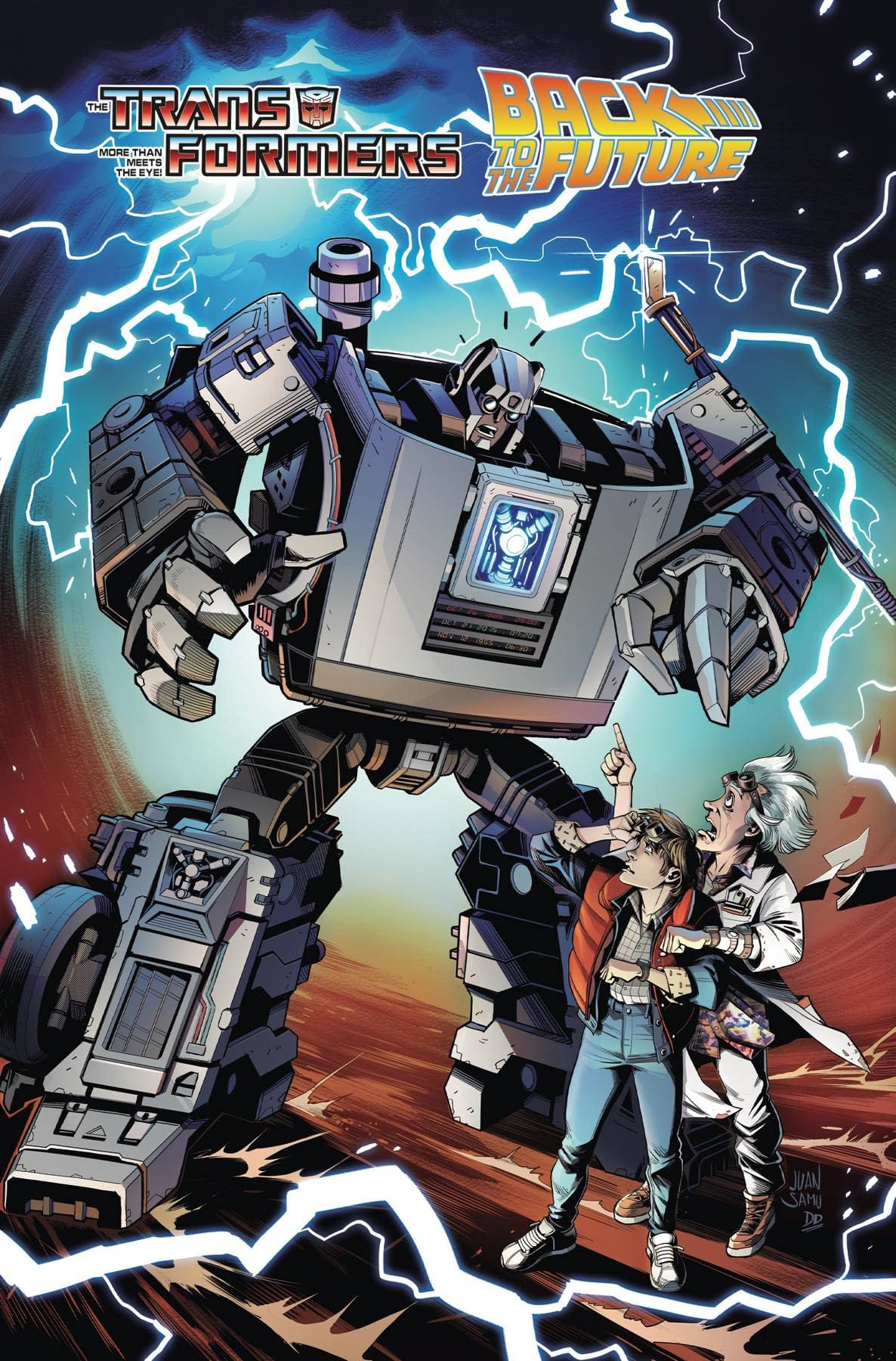 TRANSFORMERS BACK TO FUTURE TP