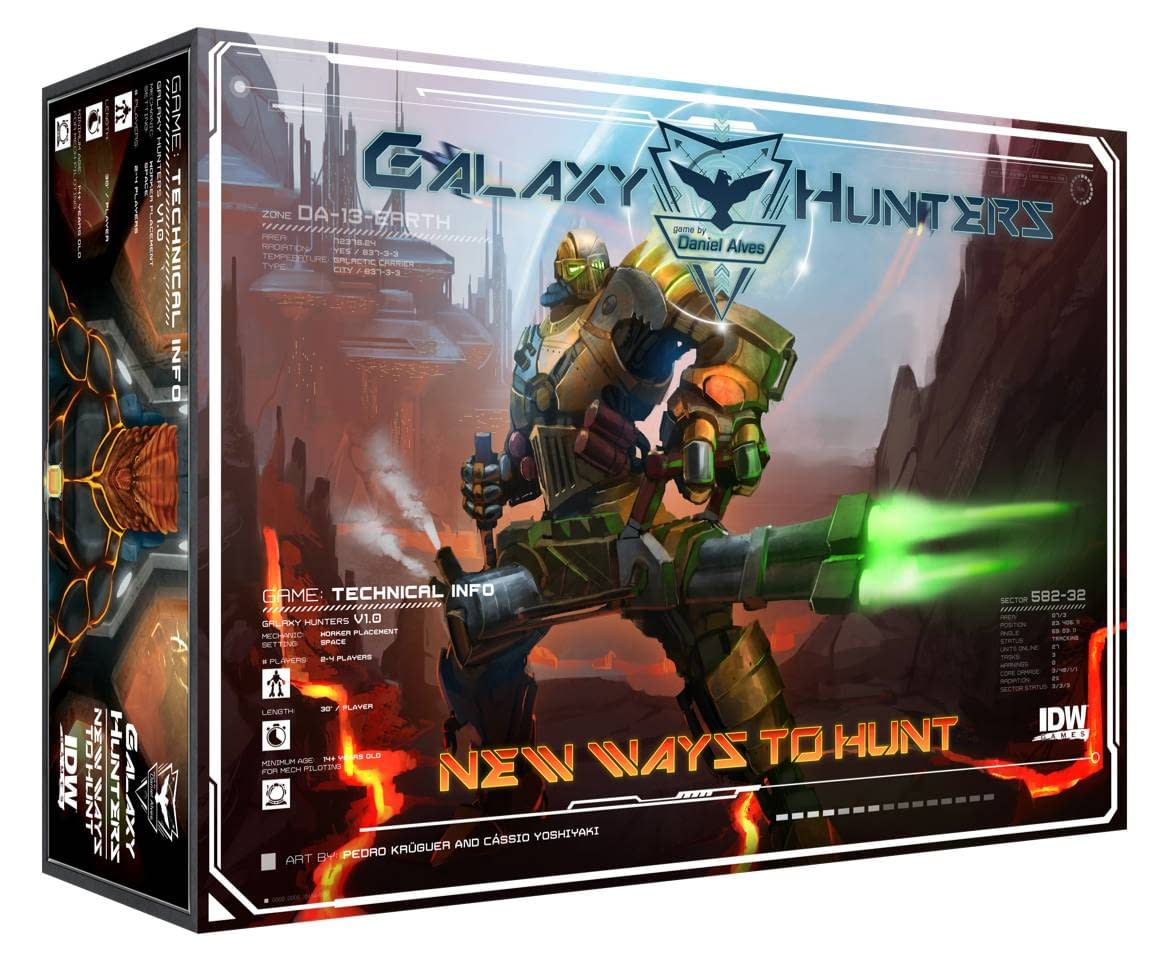 IDW GALAXY HUNTERS NEW WAYS TO HUNT EXPANSION