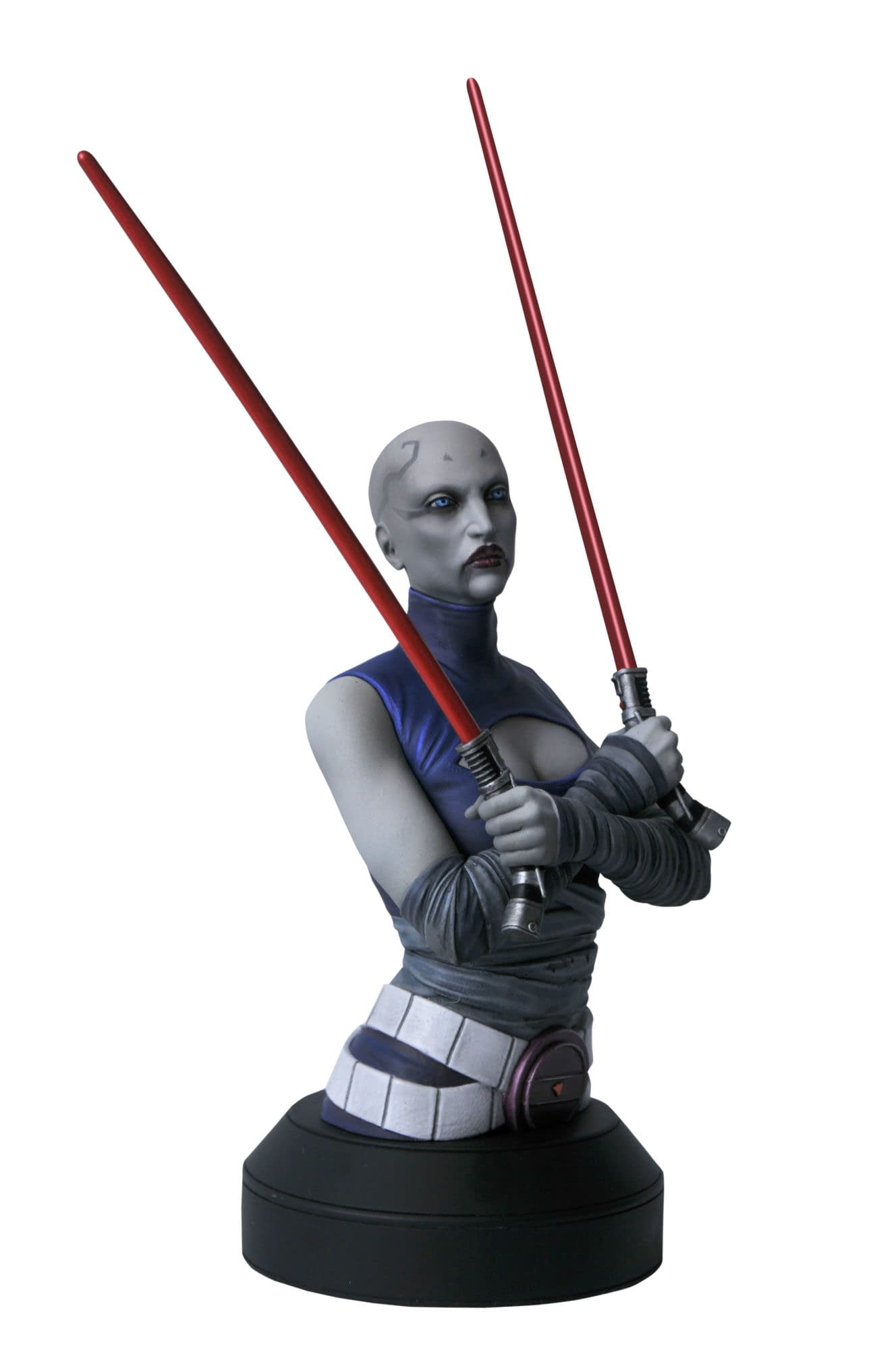 Star Wars C-3PO and Asajj Ventress Receive Gentle Giant Busts