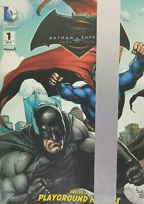 General Mills Presents Batman V Superman Dawn of Justice #1 Playground Heroes Sealed