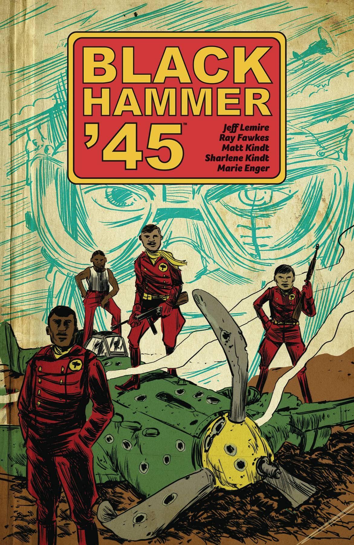 BLACK HAMMER 45 WORLD OF BLACK HAMMER TP VOL 01