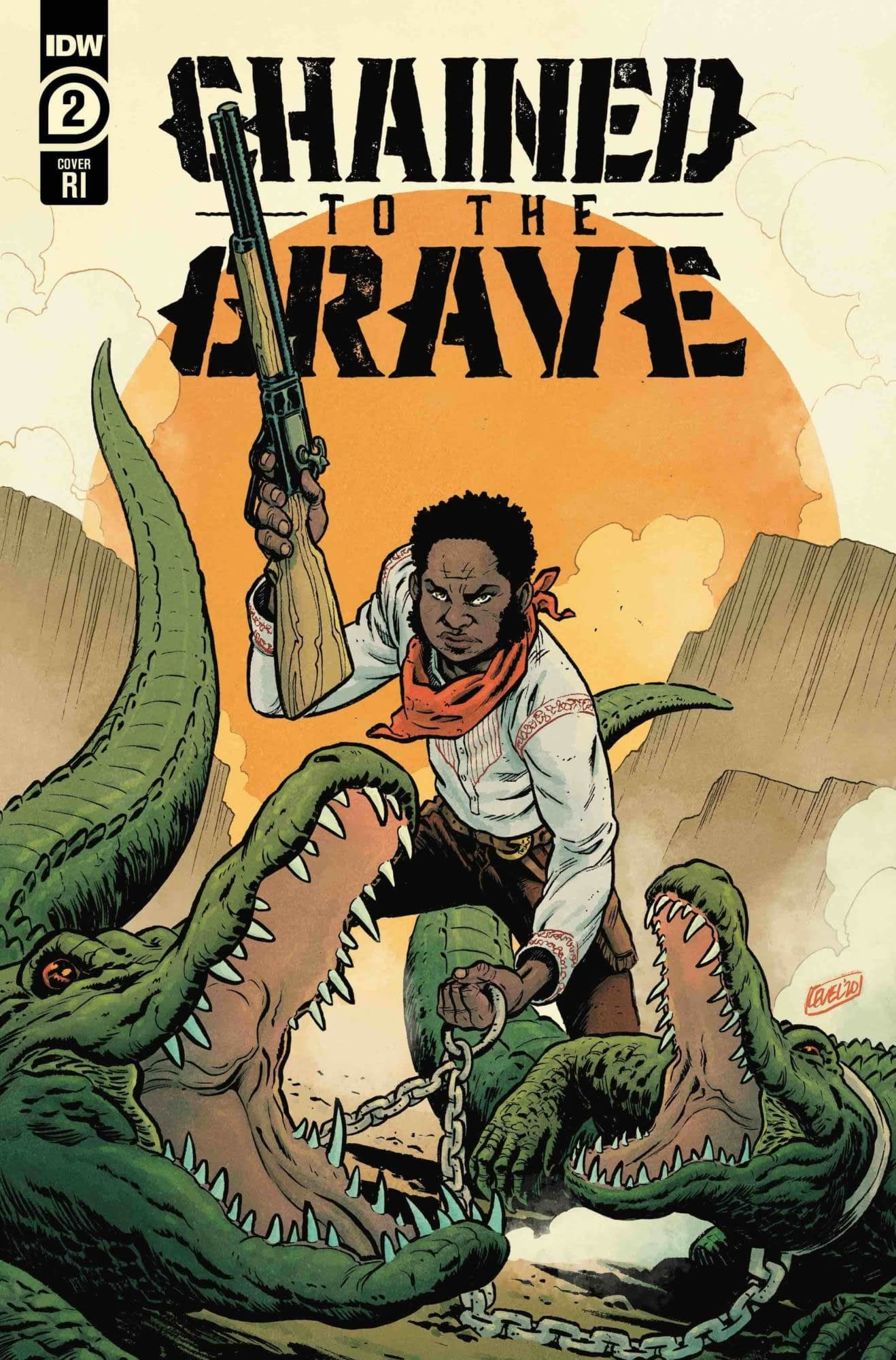 IDW Full Solicitations For March 2021 With Godzilla, Disney & GI Joe CHAINED TO THE GRAVE #2 (OF 5) 10 COPY INCV LEVEL (RES