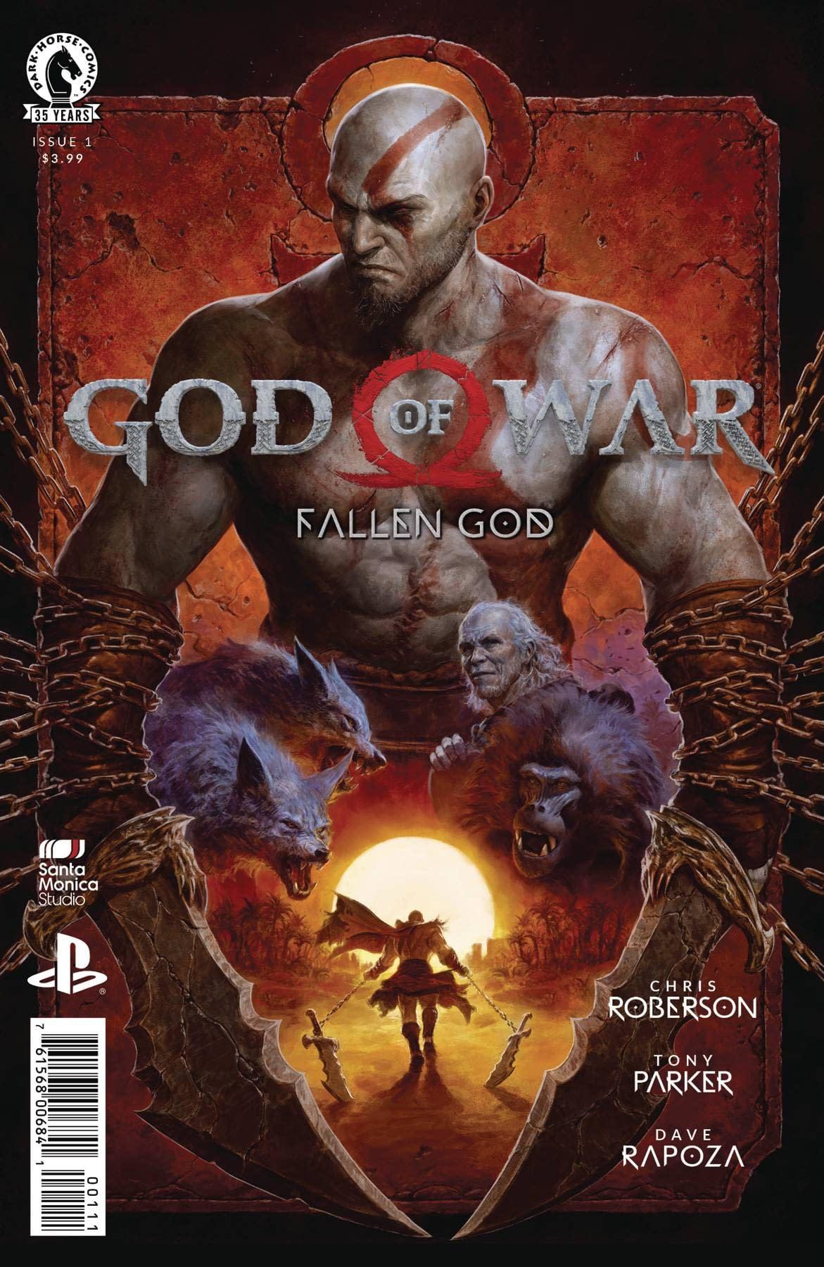 GOD OF WAR FALLEN GOD #1 (OF 4) (RES)