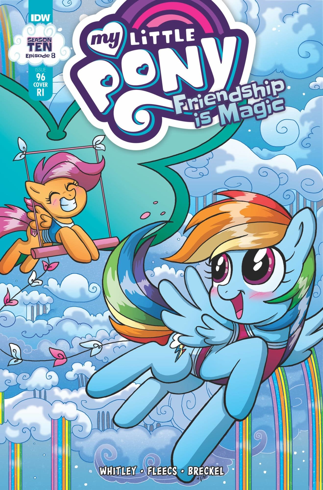 MY LITTLE PONY FRIENDSHIP IS MAGIC #96 10 COPY INCV MARY BEL