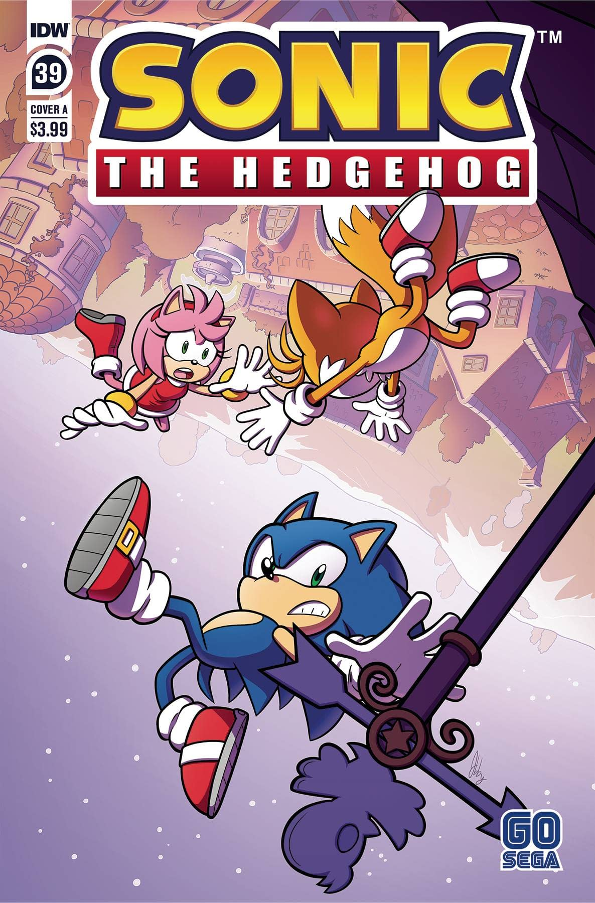 SONIC THE HEDGEHOG #39 CVR A ABBY BULMER
