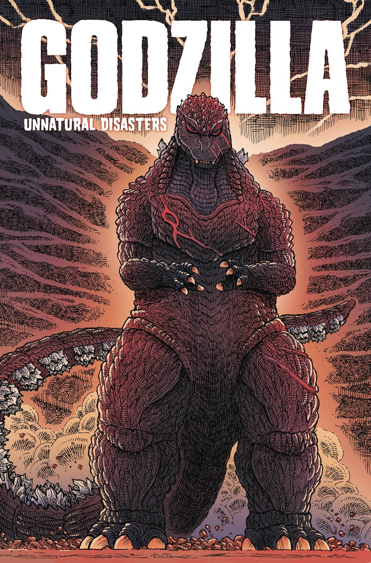 IDW Full Solicitations For March 2021 With Godzilla, Disney & GI Joe GODZILLA UNNATURAL DISASTERS TP