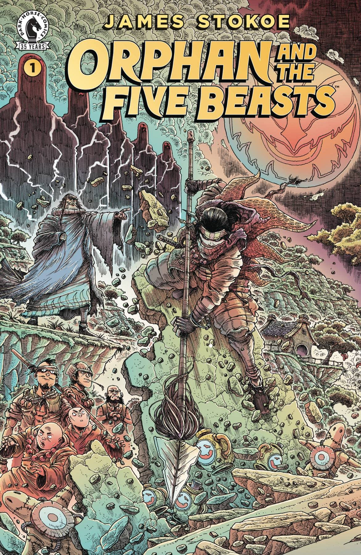 Dark Horse Comics March 2021 Solicitations In Full with James Stokoe ORPHAN & FIVE BEASTS #1 (OF 4)