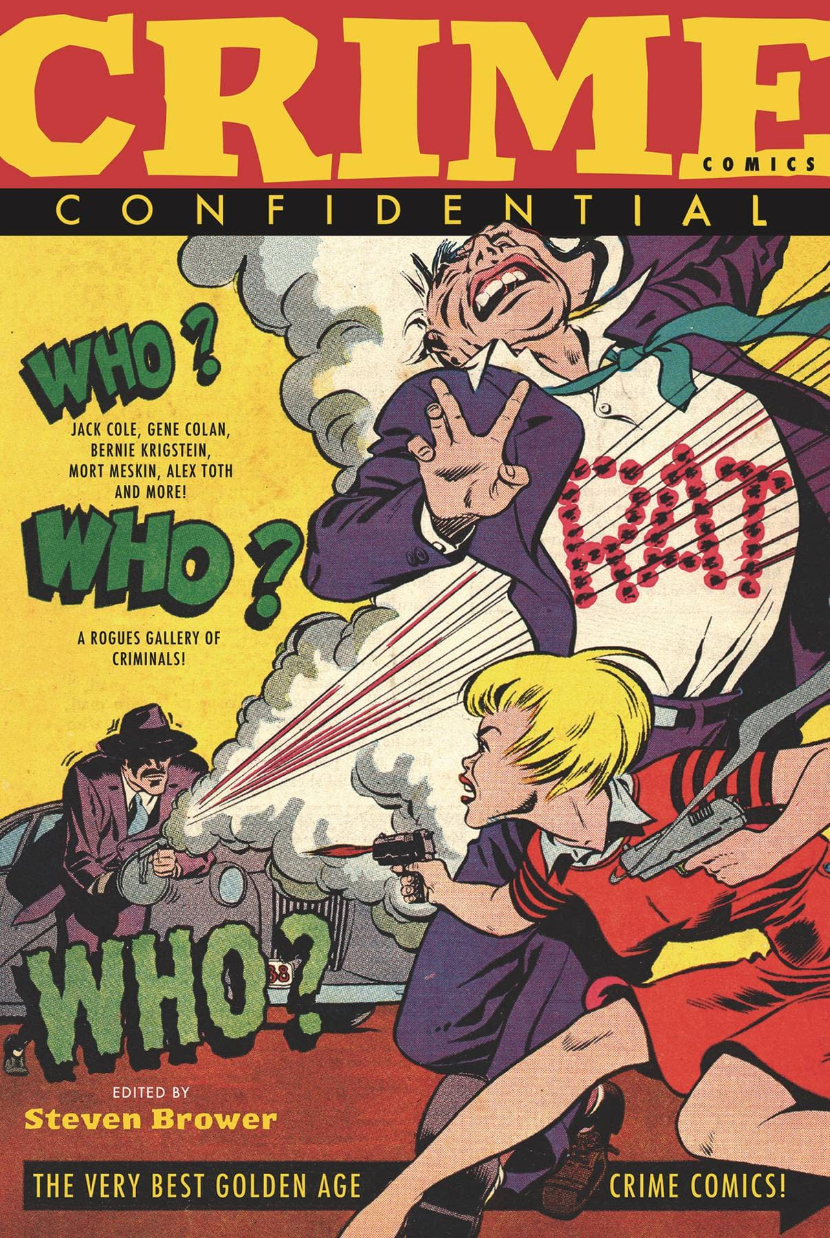 CRIME COMICS CONFIDENTIAL TP