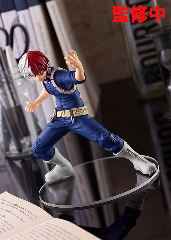 My Hero Academia Todoroki Cools Down With New Good Smile Statue