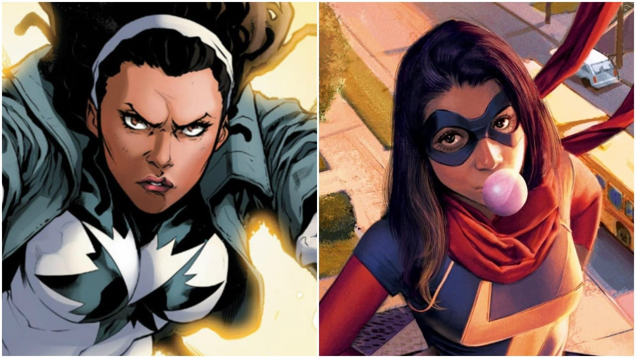 Ms Marvel And Monica Rambeau Confirmed For Captain Marvel 2 Fan art monica rambeau, captain marvel. ms marvel and monica rambeau confirmed