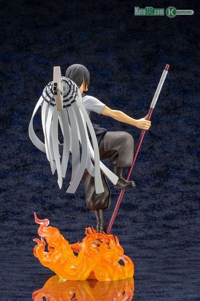 Fire Force Captain Shinmon Benimaru Brings the Heat To Kotobukiya