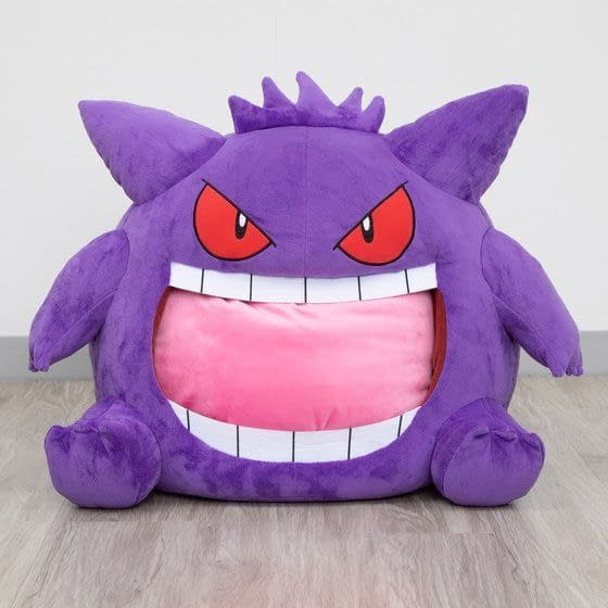 Pokemon Fans Can Sleep Inside Gengar With New Bandai Pillow