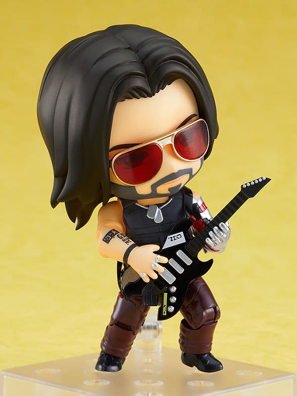 Cyberpunk 2077 Johnny Silverhand Nendoroid Rocks Out With GSC