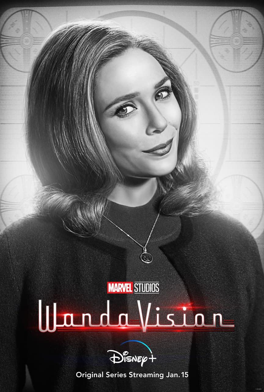 Vision and Geraldine WandaVision Cork Coasters Agnes Monica Character Coasters of Wanda