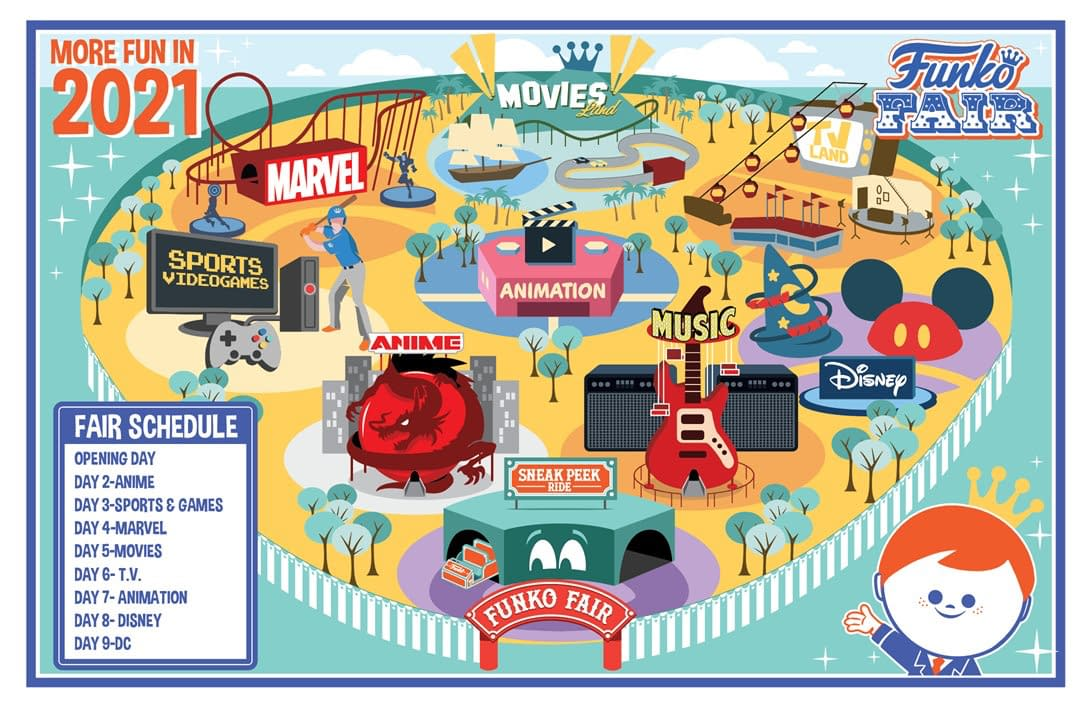 Funko Fair Begins Today and the Release Schedule Has Been Revealed