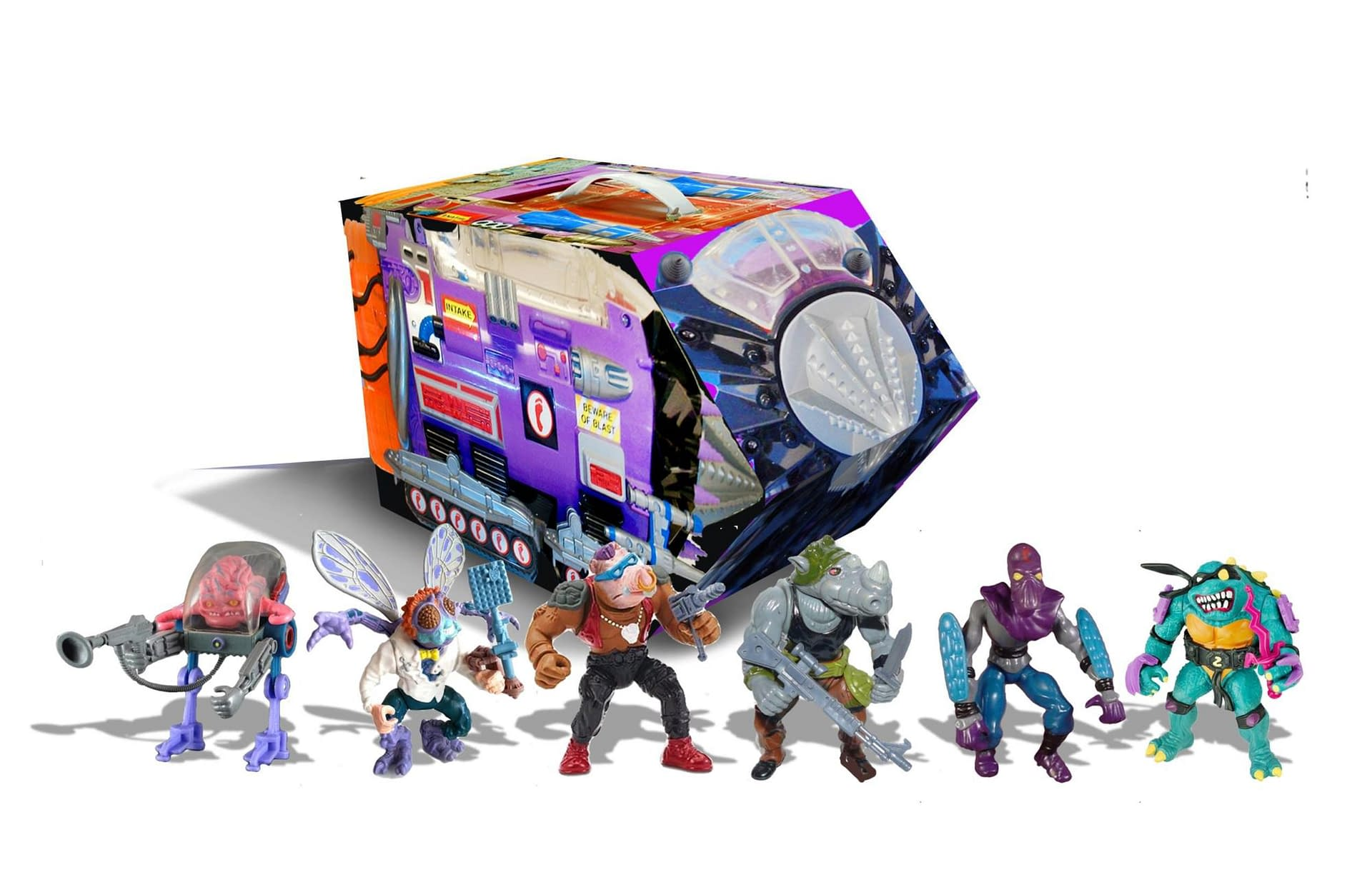 TMNT Mutant Module From Playmates Unleashes the Villains