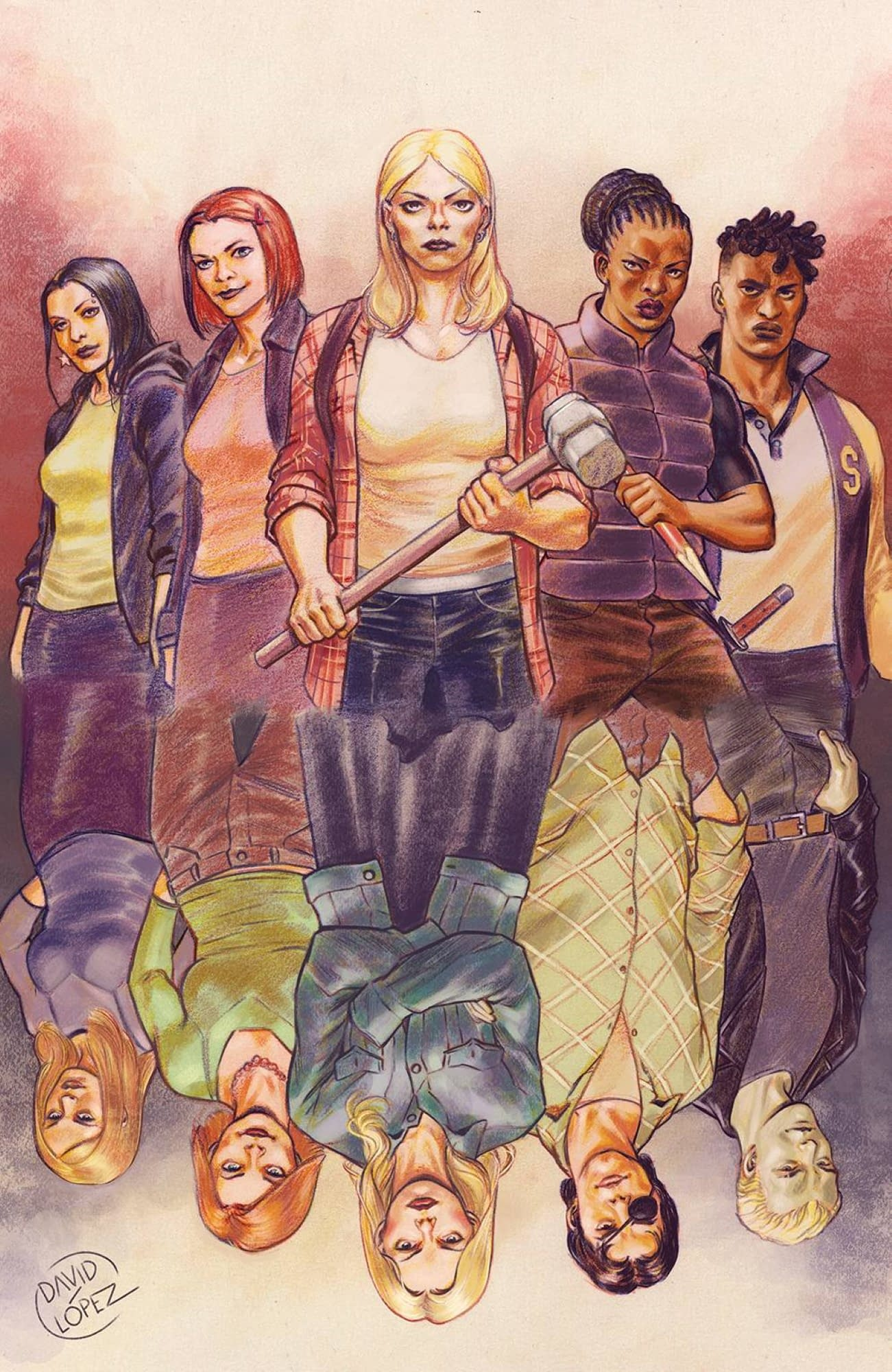 BUFFY THE VAMPIRE SLAYER #24 CVR A LOPEZ