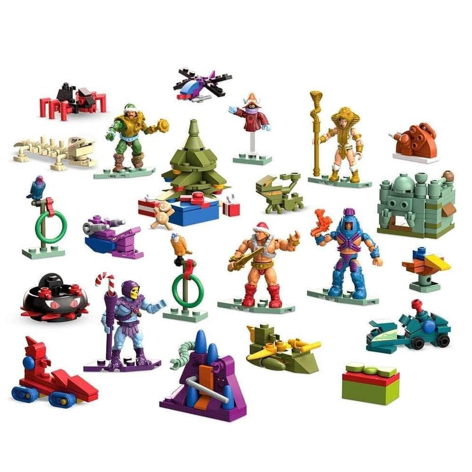 Masters Of The Universe Mega Construx Advent Calendar Coming