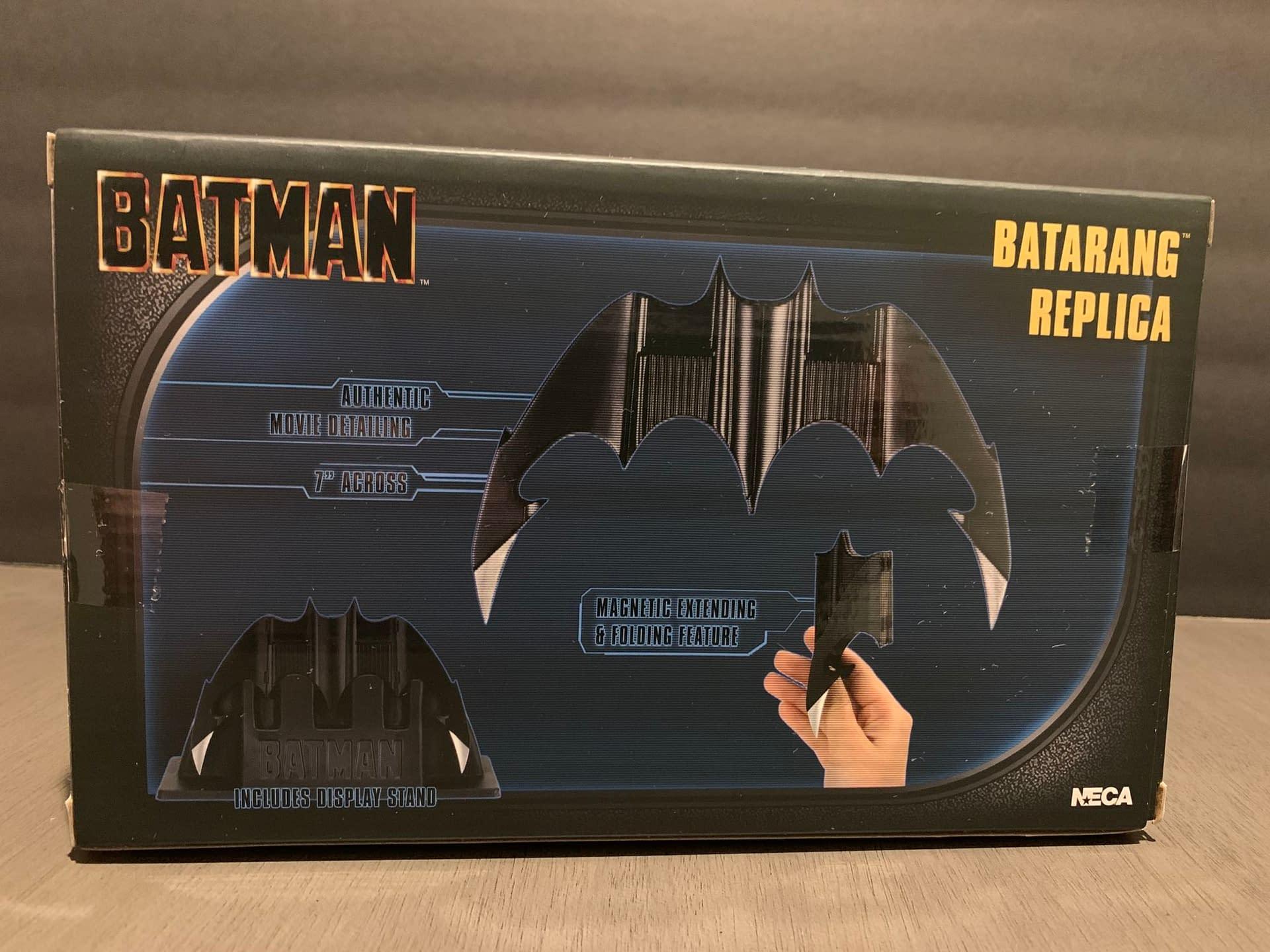 Let's Take A Look At NECA's new Batarang Replica