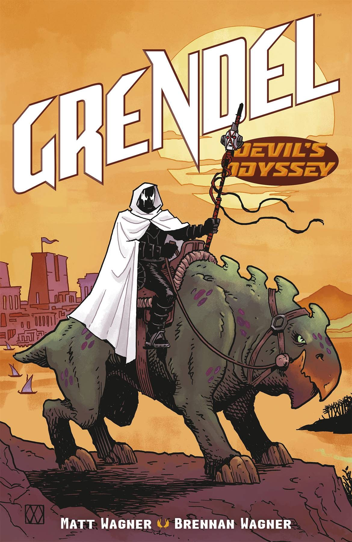 GRENDEL DEVILS ODYSSEY #6 (OF 8) CVR A WAGNER (RES) (MR)