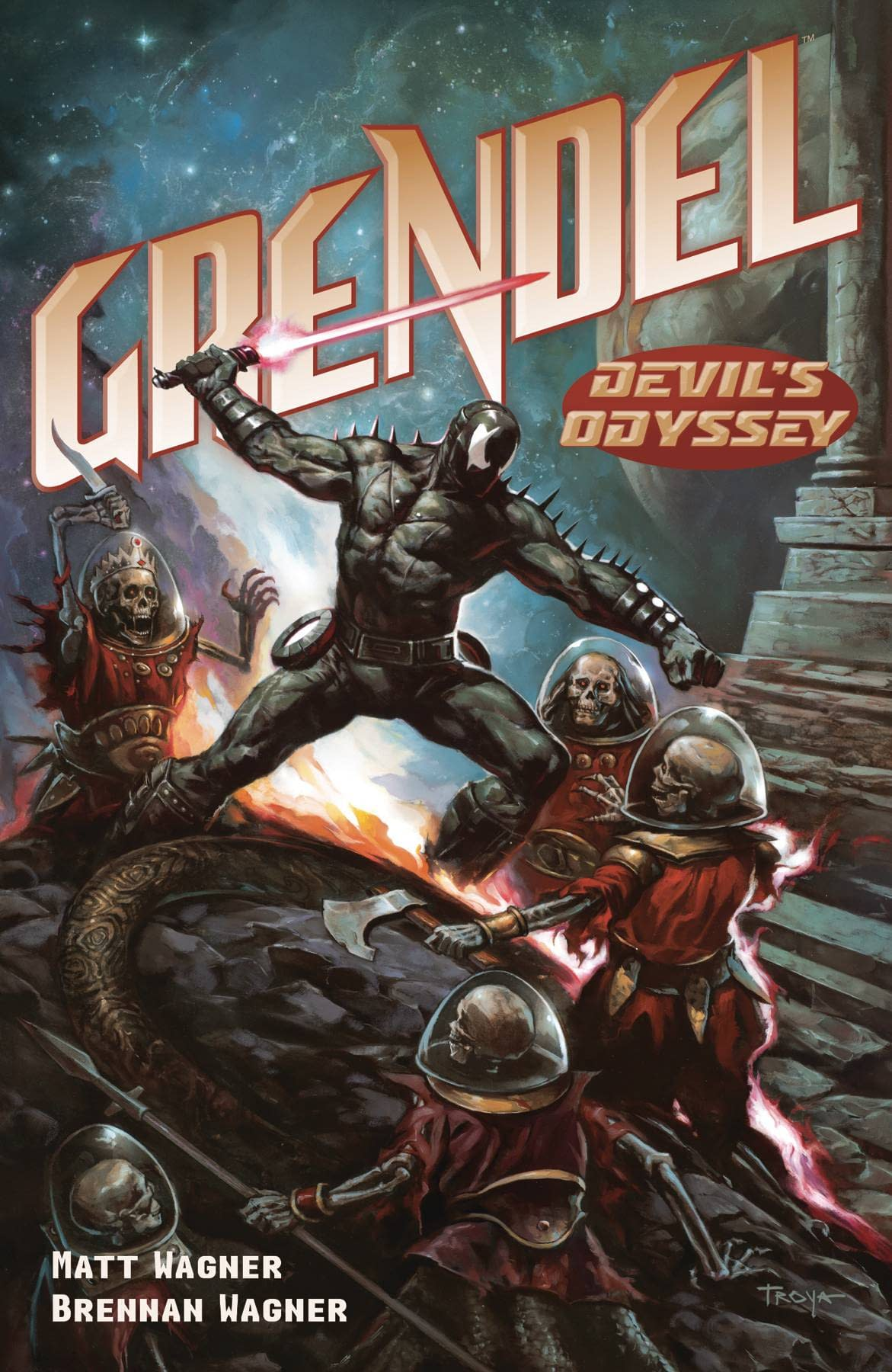 GRENDEL DEVILS ODYSSEY #6 (OF 8) CVR B TROYA (RES) (MR)