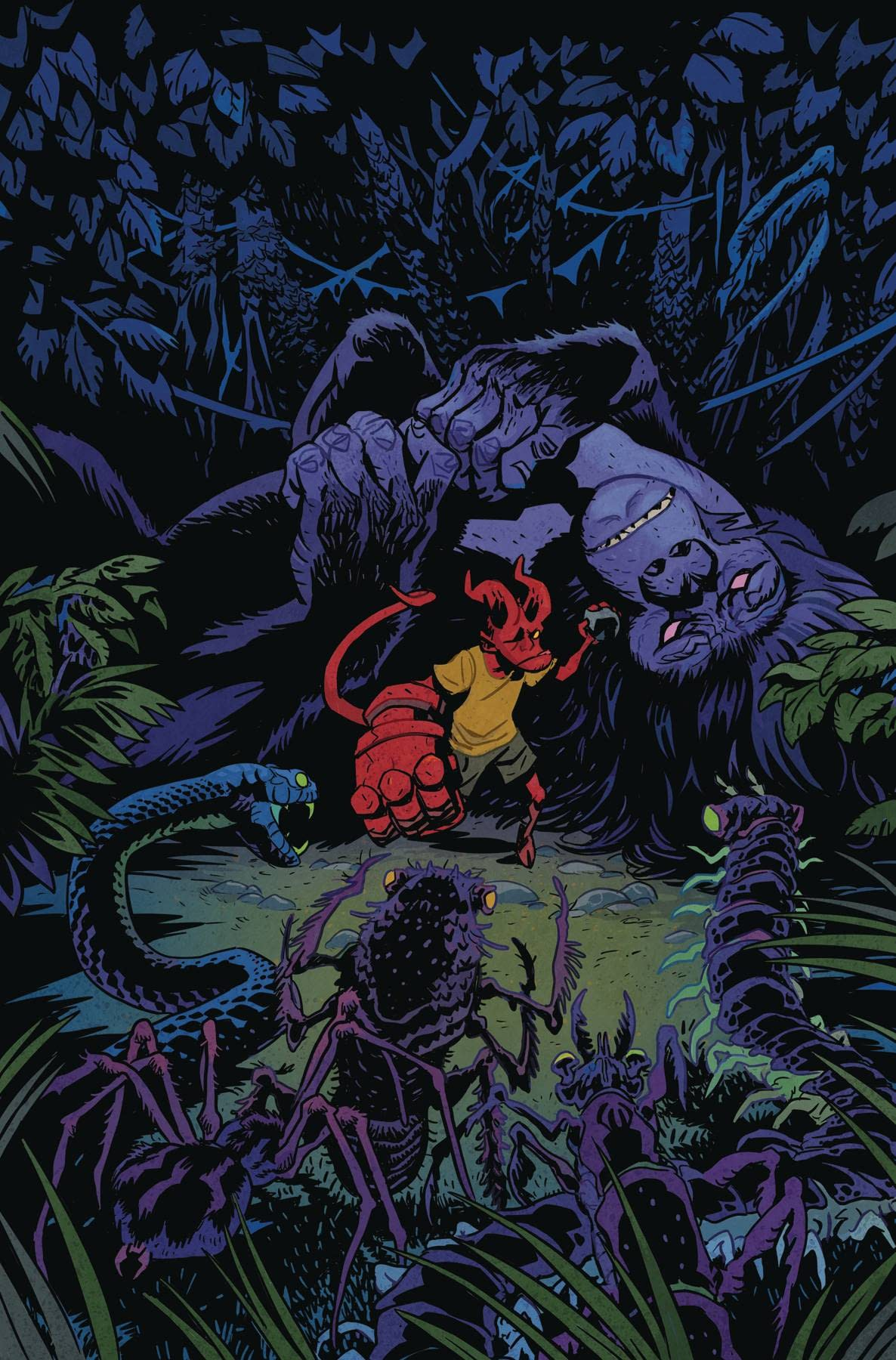 Dark Horse - YOUNG HELLBOY THE HIDDEN LAND #4 (OF 4) CVR A SMITH