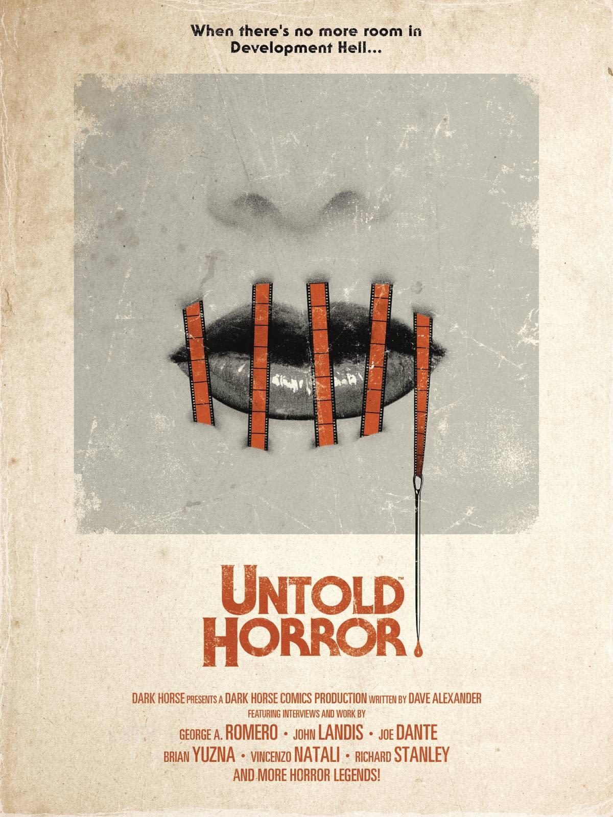 Dark Horse -  UNTOLD HORROR HC