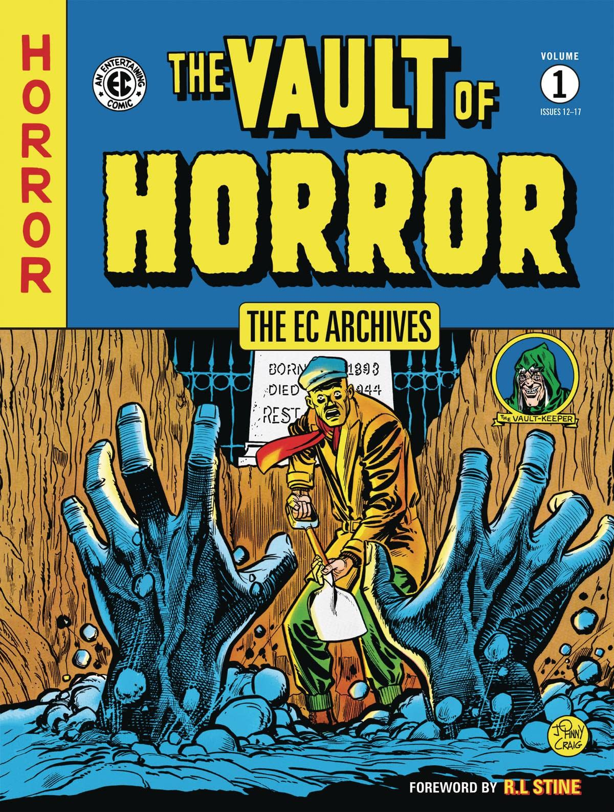 EC ARCHIVES VAULT OF HORROR TP