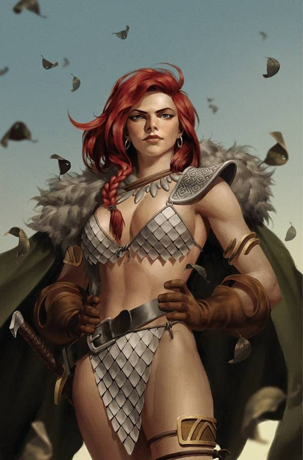 RED SONJA THE SUPERPOWERS #5 25 COPY YOON VIRGIN INCV