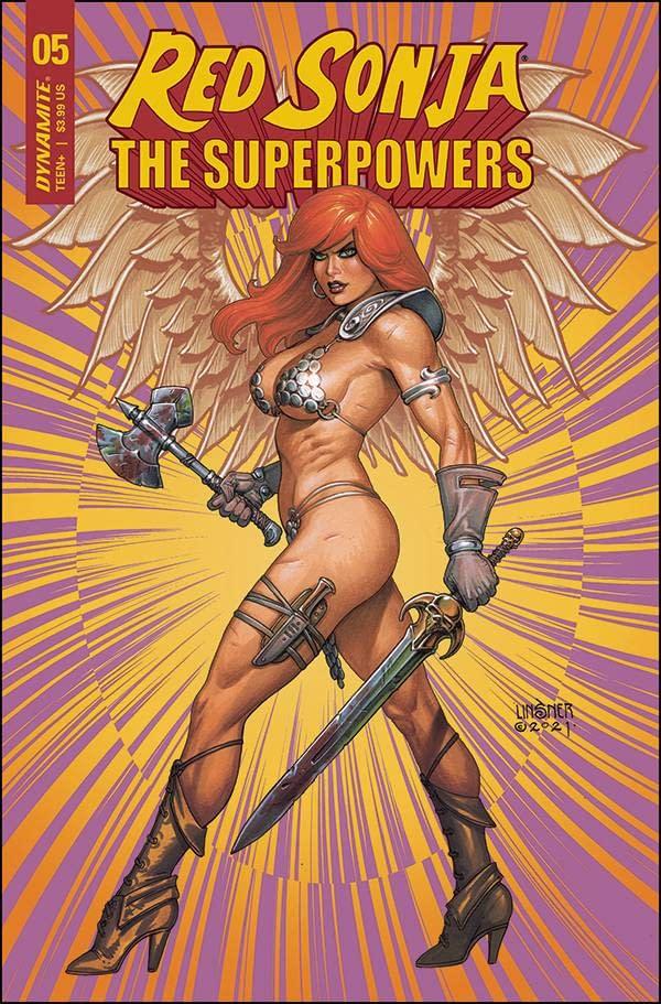 RED SONJA THE SUPERPOWERS #5 CVR C LINSNER