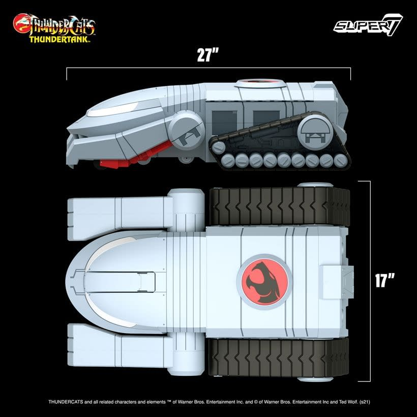 Thundercats ThunderTank Now Up For Order, Fully Revealed
