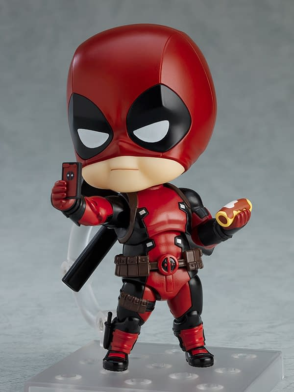 Deadpool Gets New Deluxe Nendoroid From Good Smile Company