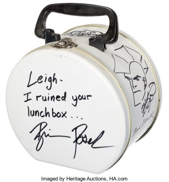 Mike Mignola, Travis Charest, Bruce Timm Lunchbox Sketches At Auction