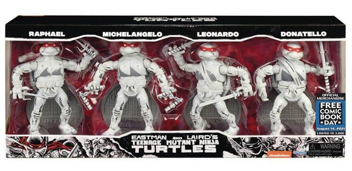 Teenage Mutant Ninja Turtles Go Black and White For FCDB