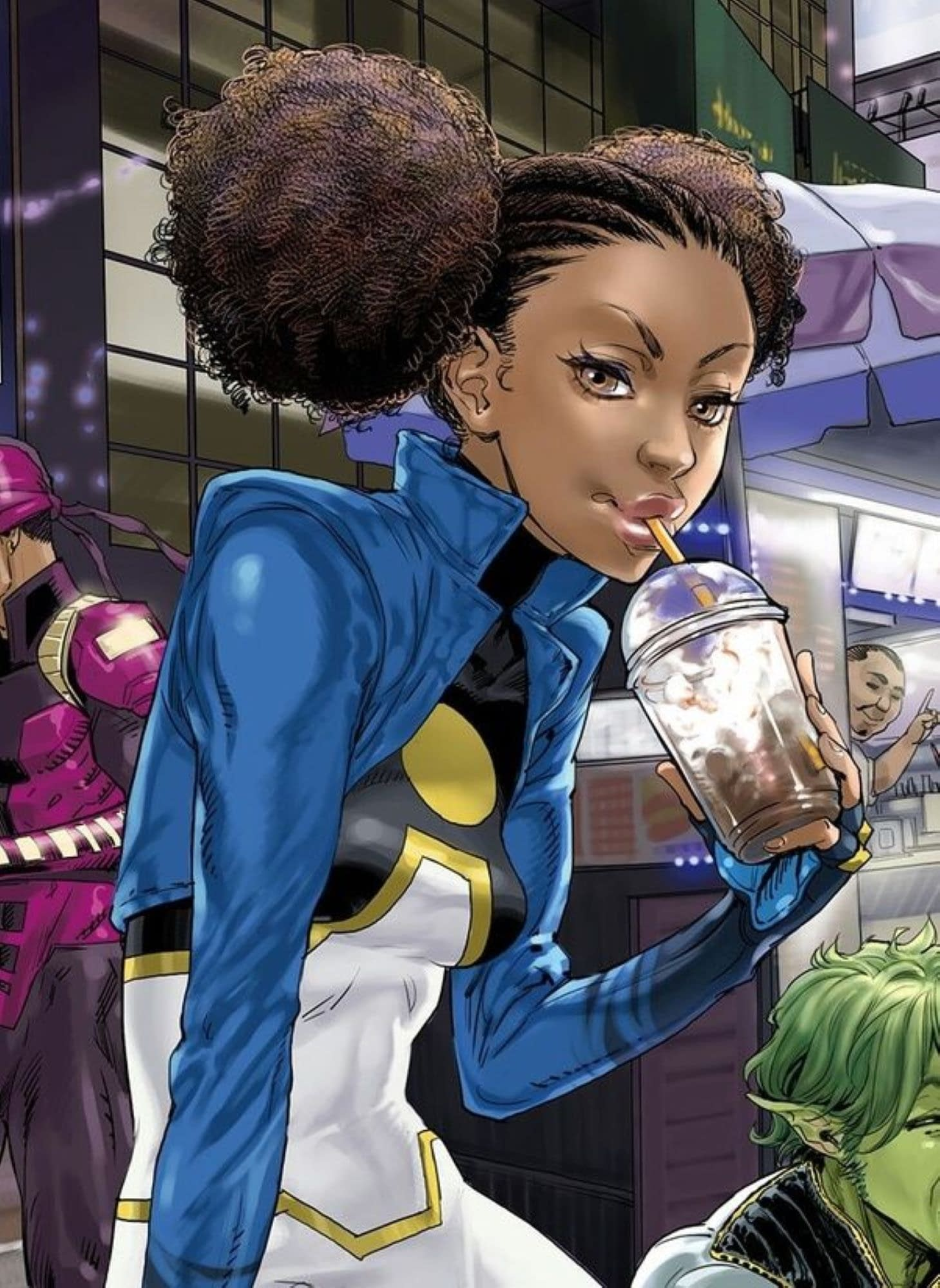 Jeremy Whitley And The Tanya Spears Power Girl Comic That Wasn't