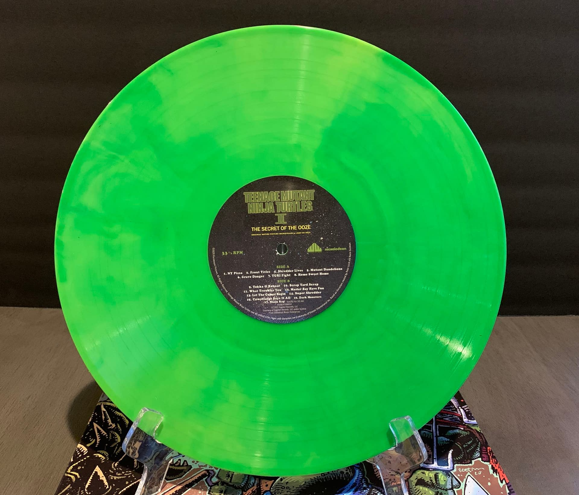 TMNT Fans: Waxwork Records Secret Of The Ooze Vinyl Is Incredible