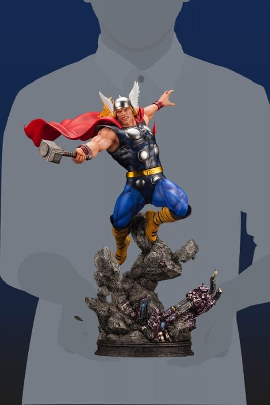 The Lightning Calls Thor With Kotobukiya's Newest Marvel Statue