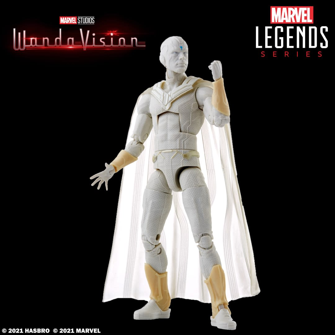 WandaVision Marvel Legends Available To Order In Spring, New Pics