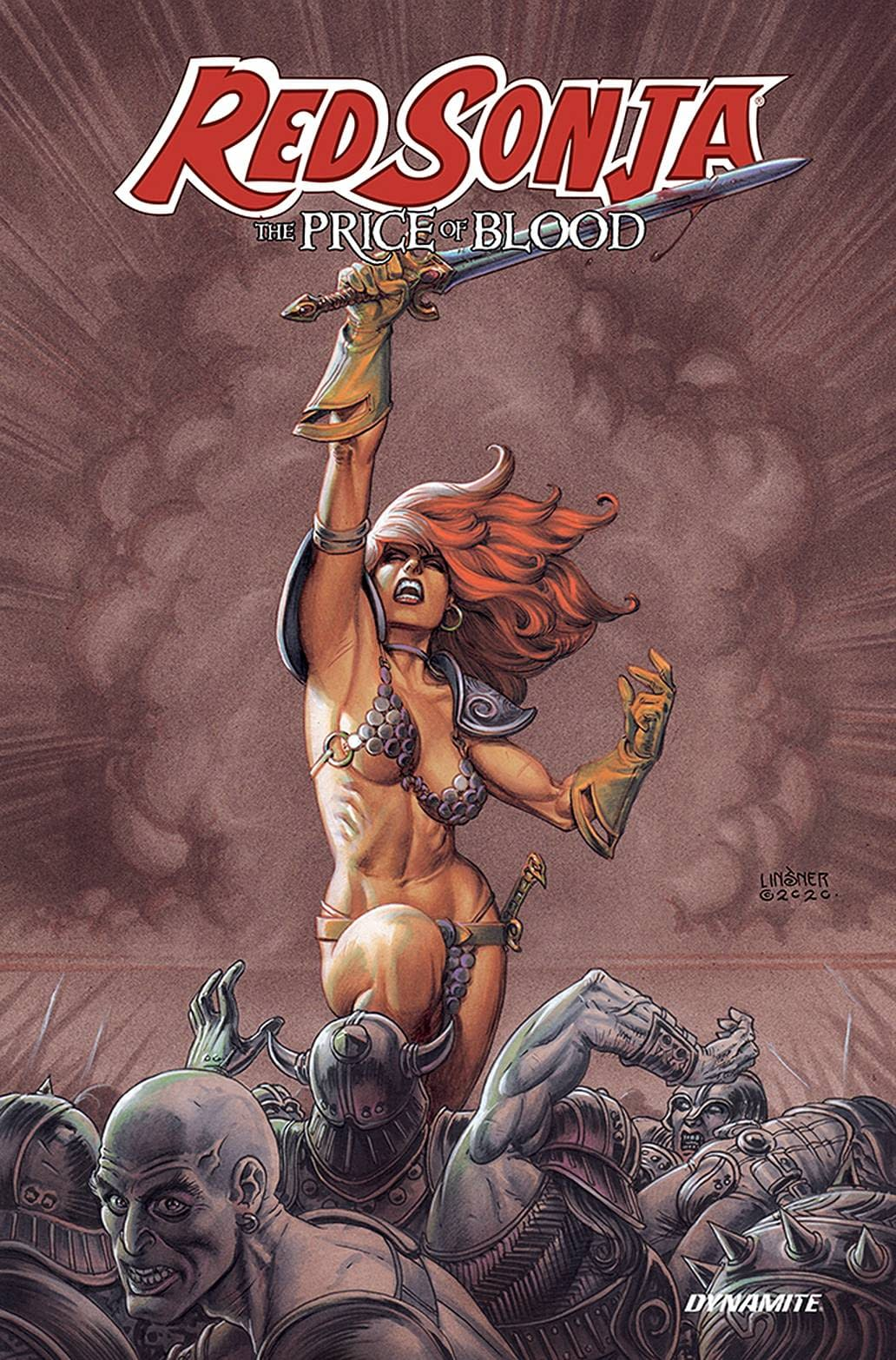 RED SONJA PRICE OF BLOOD TP