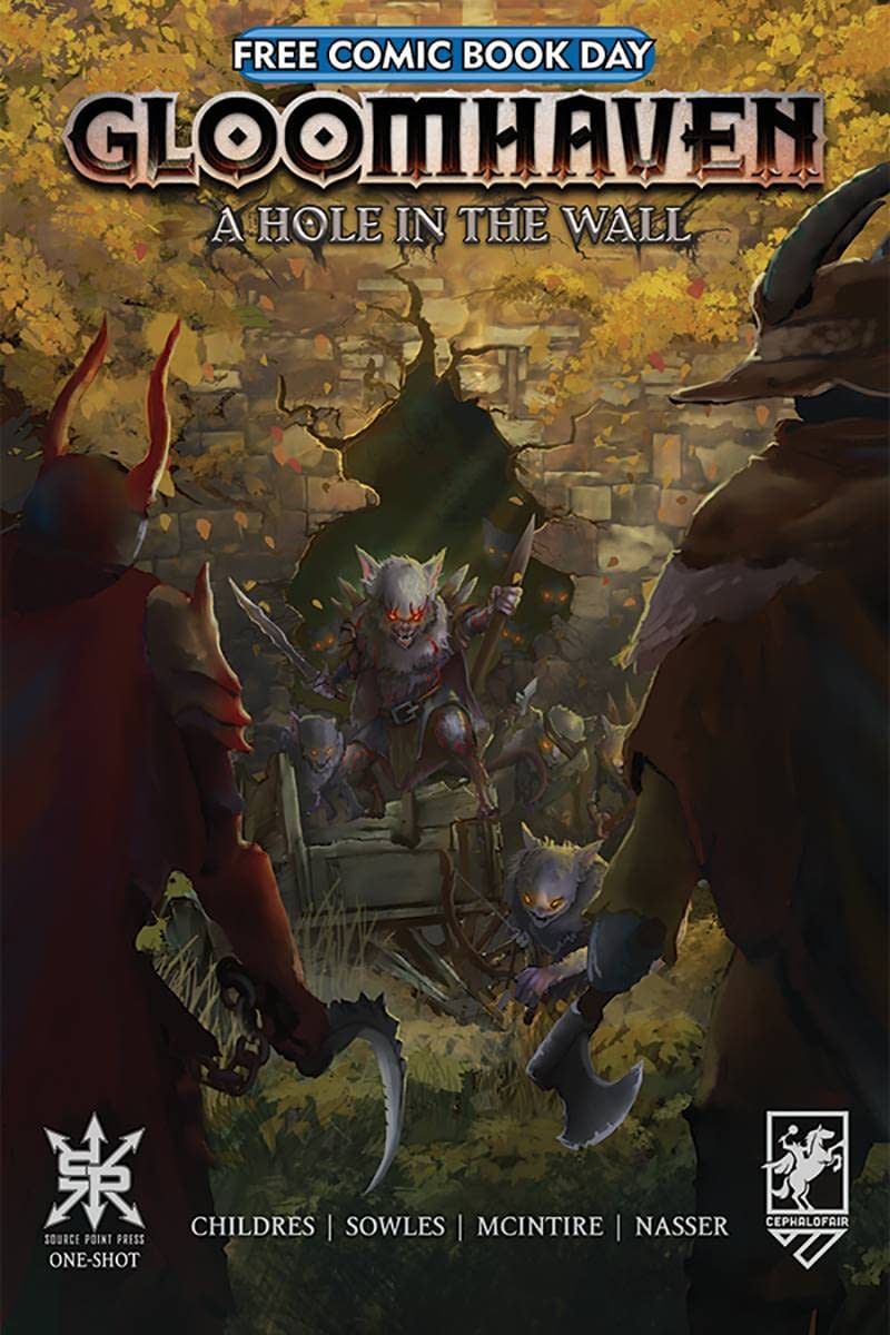 FCBD 2021 GLOOMHAVEN HOLE IN THE WALL ONESHOT