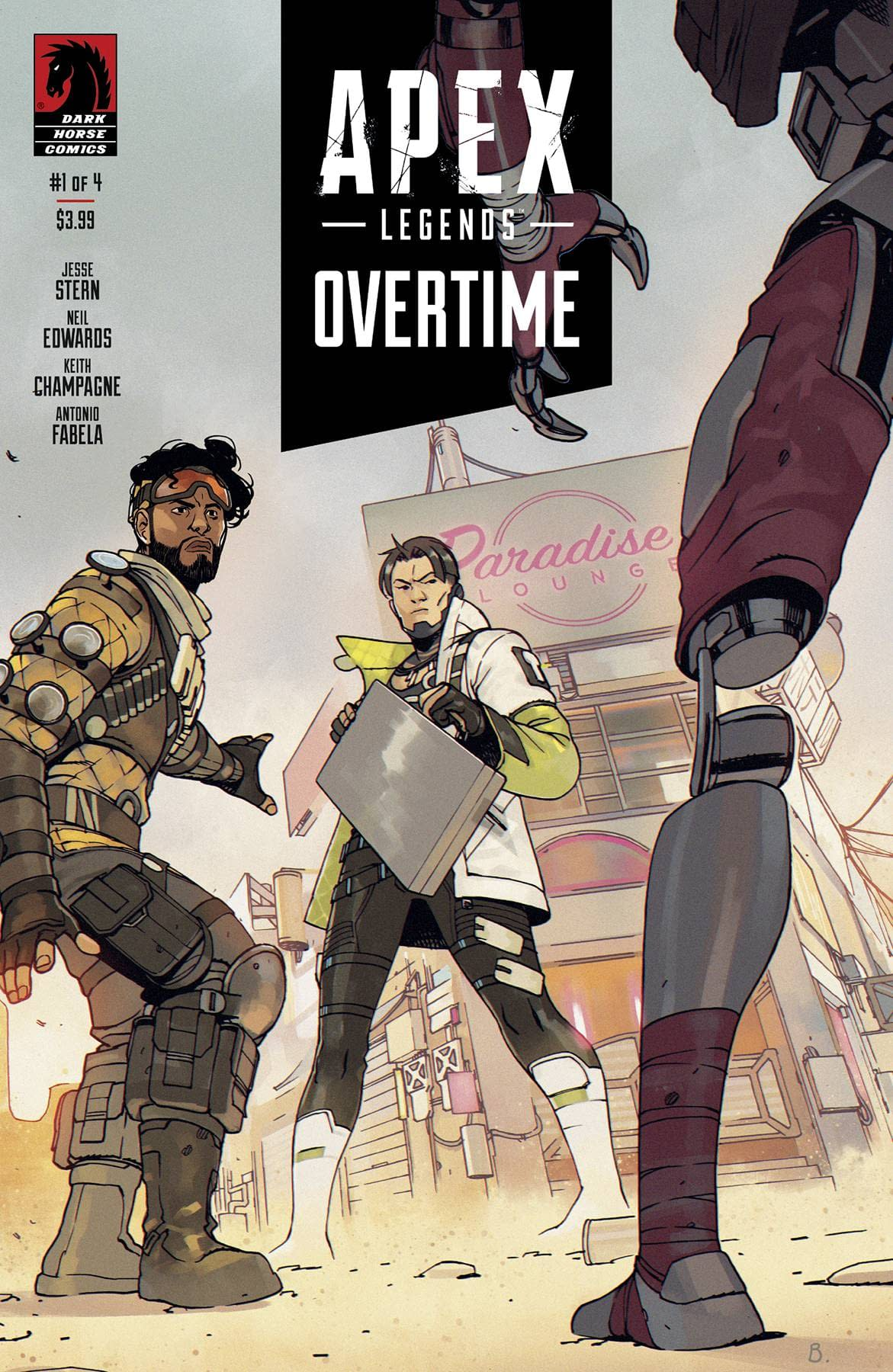 APEX LEGENDS OVERTIME #1 (OF 4)